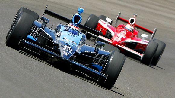 indy cars gain share